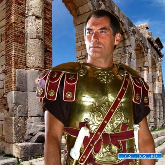 Шаблон  мужской - Римский легионер