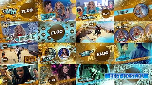 Videohive проект - Fluo TV (After Effects)