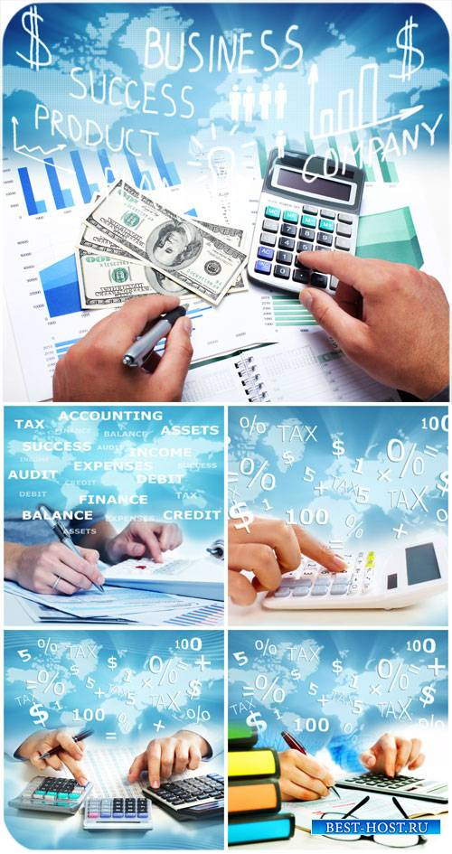 Бизнес фоны, учет, успех / Business backgrounds, accounting, success - Stoc ...