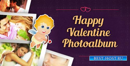 Happy Valentine Photoalbum - Project for After Effects (Videohive)
