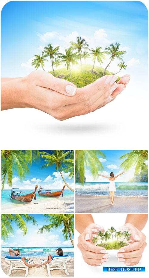 Райский уголок, летний отдых у моря / Paradise, summer,  holiday by the sea ...