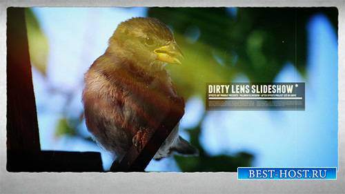 Dirty Lens Slideshow - Project for After Effects (Videohive)