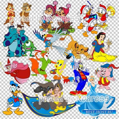 Png клипарт - Герои любимых мультфильмов