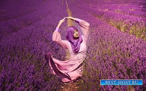 Шаблон для фото - Фотосессия в красивом поле