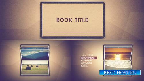 Photo book scrolling - Project for After Effects (Videohive)