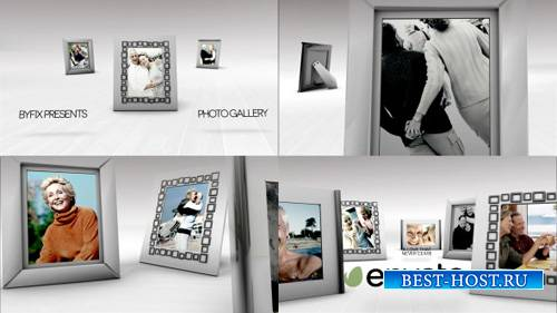 White Photo Gallery - Project for After Effects (Videohive)