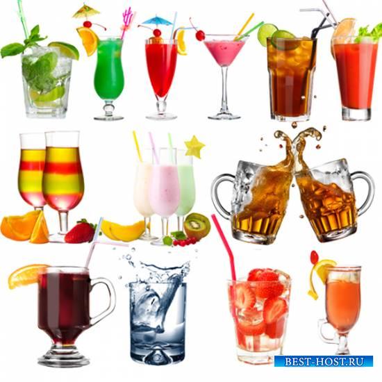 Клипарт - Летние напитки и коктейли