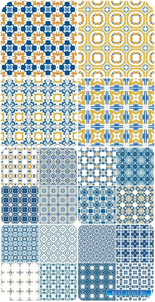 Текстуры в векторе, орнаменты, геометрические узоры / Texture vector, ornam ...