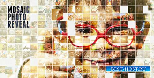 Mosaic Photo Reveal - Project for After Effects (Videohive)