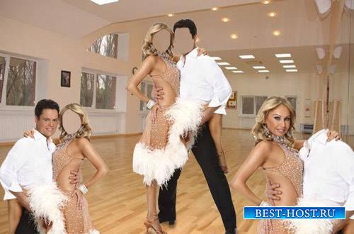 Шаблон мужской - Пара в танце