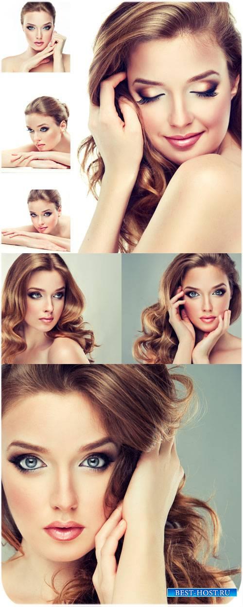 Красивая женщина, нежность и очарование / Beautiful woman, tenderness and c ...