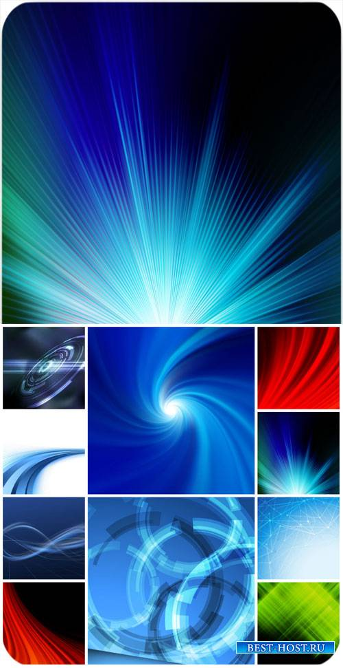 Фоны, абстракция в векторе / Backgrounds, abstract vector