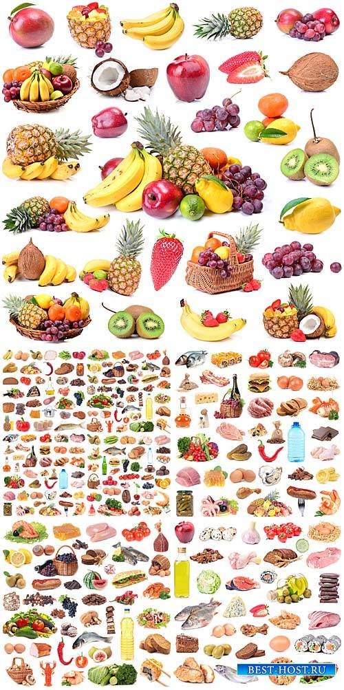 Продукты, различная еда / Products, food varied - stock photos