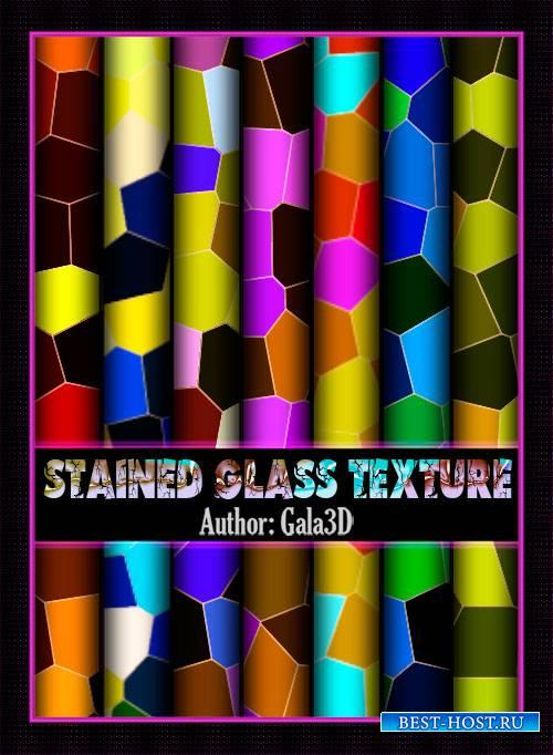 Подборка ярких и красочных текстур - Витражные