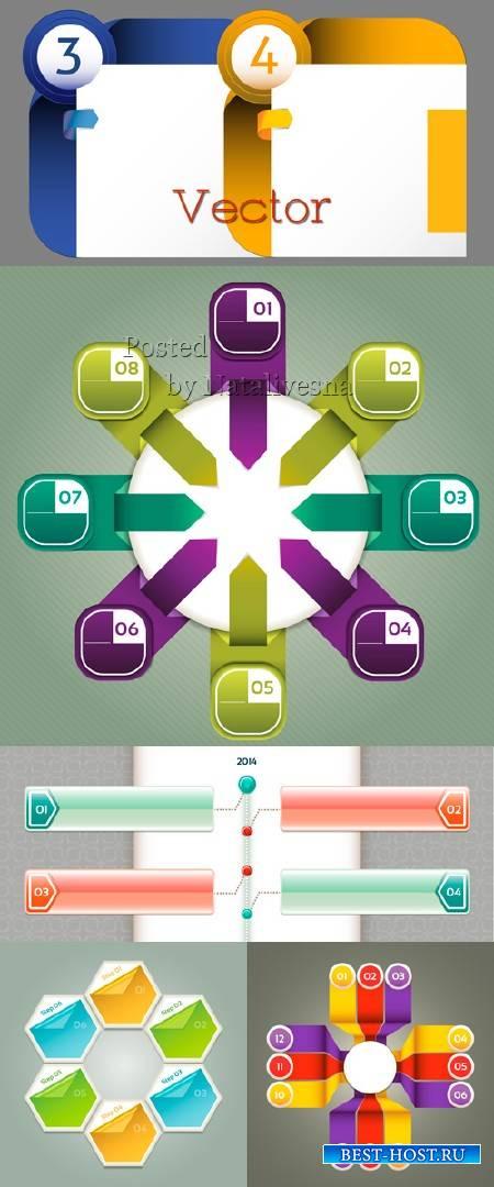 Инфографика в Векторе – Для Дизайна 5