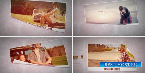 Simple & Clean Paper Slideshow - Project for After Effects (Videohive)