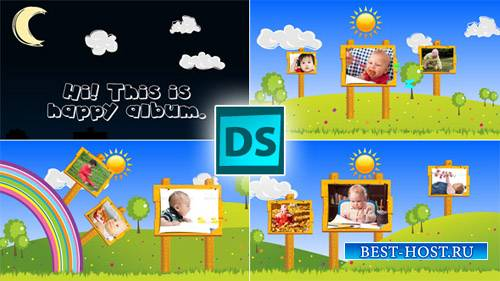 Happy Children - Project for After Effects (Videohive)