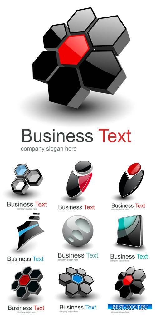 Бизнес логотипы в векторе / Business, different logos vector