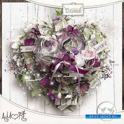 Романтический скрап-комплект - Любовь