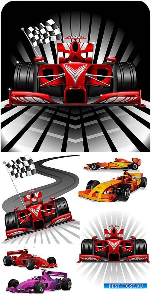 Гоночные автомобили в векторе, спортивные машины / Racing cars vector, spor ...