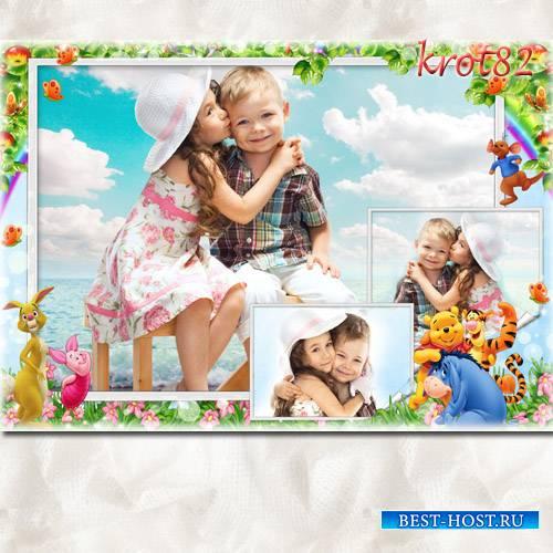 Детская фоторамка для несколько фото – Воспоминания о лете