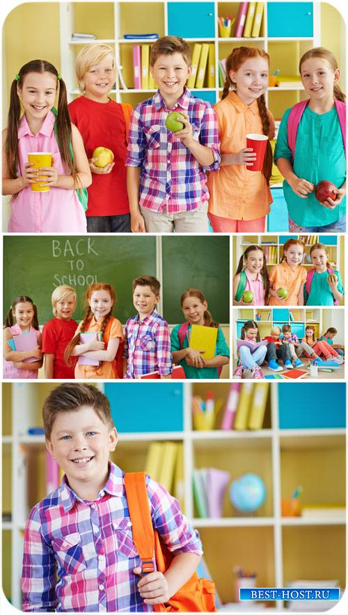 Дети и школа / Children and school - stock photos