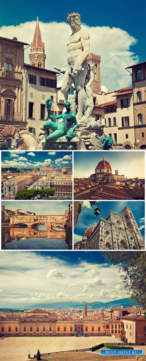 Италия, архитектура / Italy, architecture - Stock photo