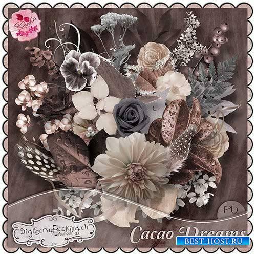 Винтажный скрап-комплект - Cacao Dreams