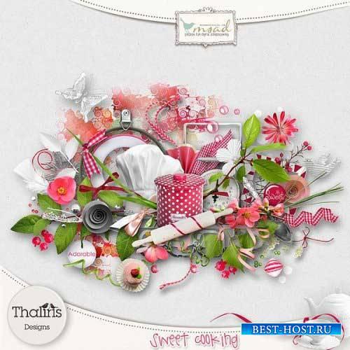 Яркий тематический скрап-комплект - Sweet Cooking
