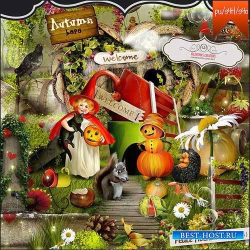 Осенний скрап-комплект - Peace Avenue