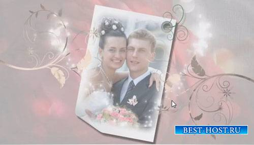 Свадебный проект для ProShow Producer - Свадебная тема