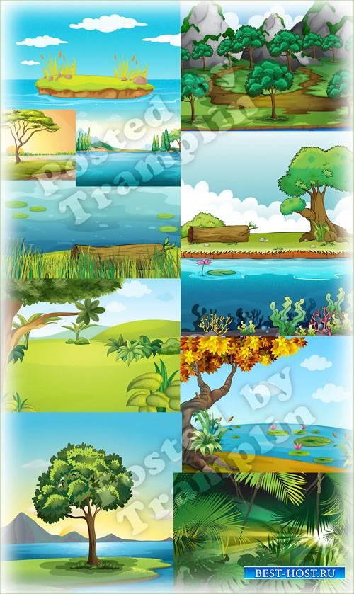Пейзажи – Фоны для творчества