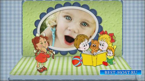 Детский проект для ProShow Producer - Книжка-раскладушка