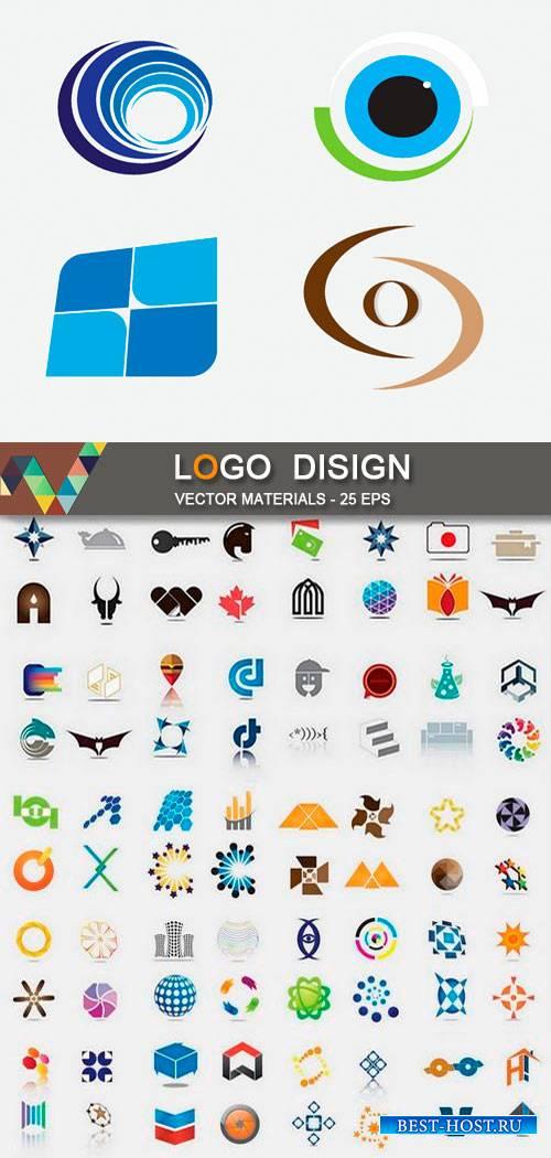 Дизайн логотипов в векторе