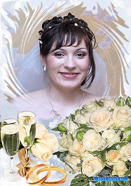 Фоторамка - Букет для невесты
