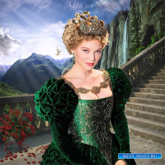 Шаблон  женский - Принцесса Грёза
