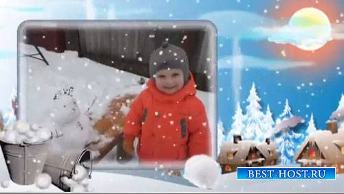 Детский зимний проект для ProShow Producer - Зимушка