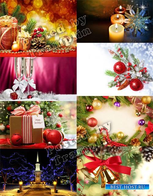 Рождественские и Новогодние фоны – Праздник ёлки и зимы