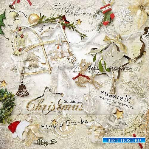 Новогодний скрап-комплект - Так это Рождество