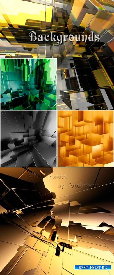 Абстрактные фоны для дизайна – Креатив пирамида