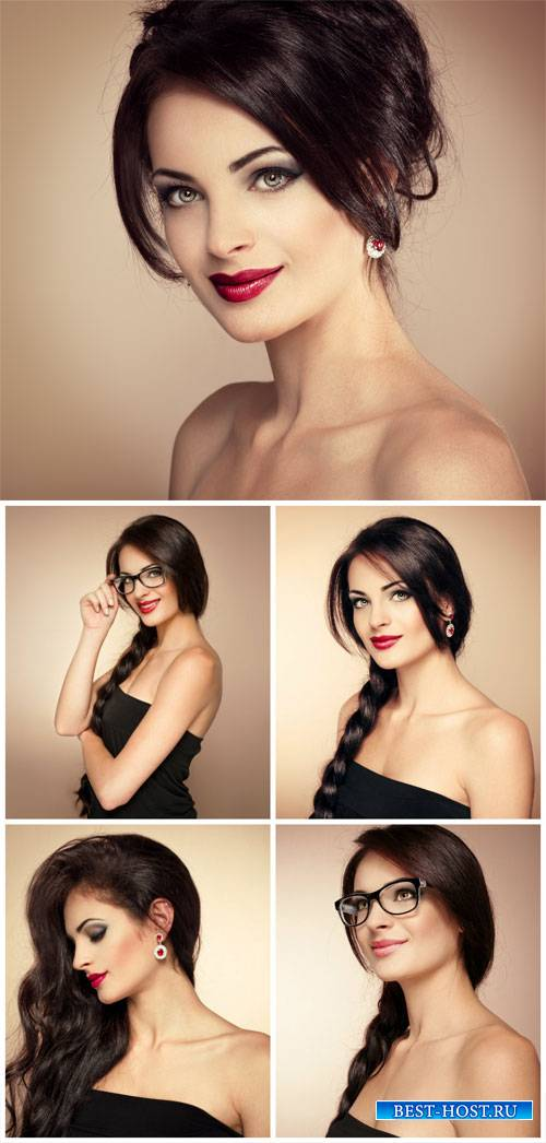 Beautiful girl, fashion, style - stock photos