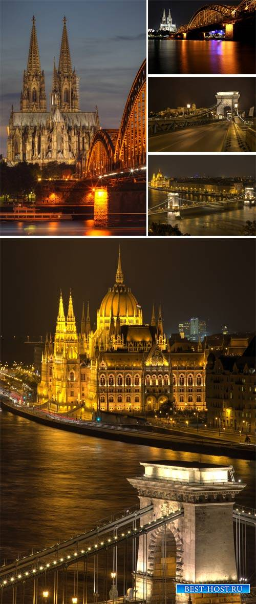 Night city, Budapest - stock photos