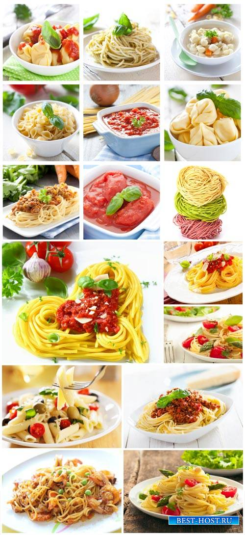 Pasta, tasty food - stock photos