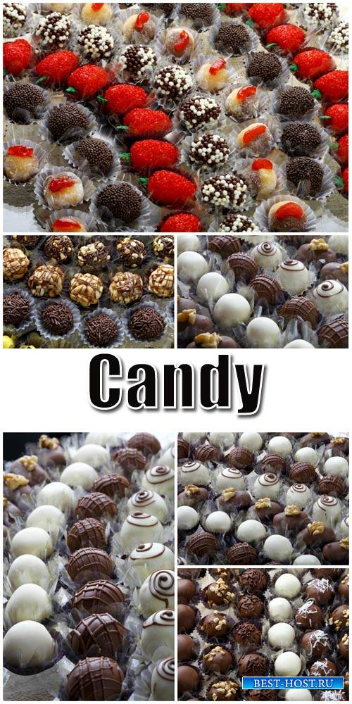 Candy, chocolate - stock photos