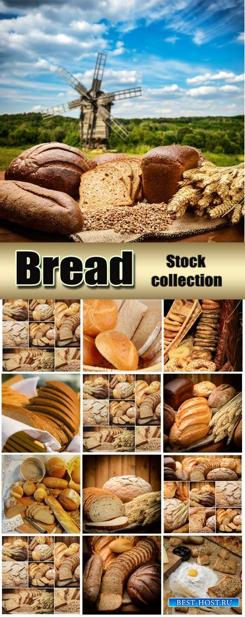 Bread and flour products - stock photos #2