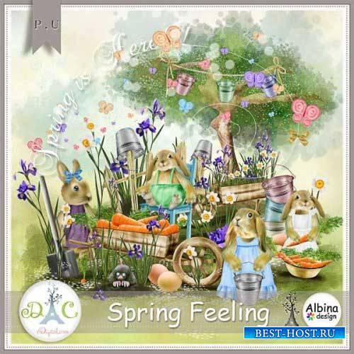 Весенний скрап-комплект - Предчувствие весны