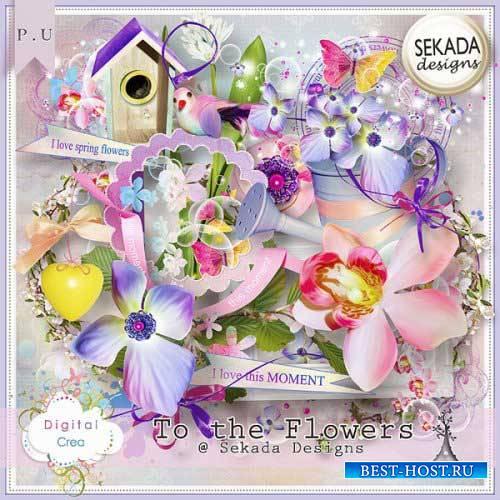 Весенний скрап-комплект - Цветы