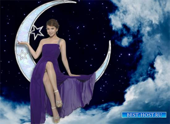 Шаблон  женский - Лунная рапсодия