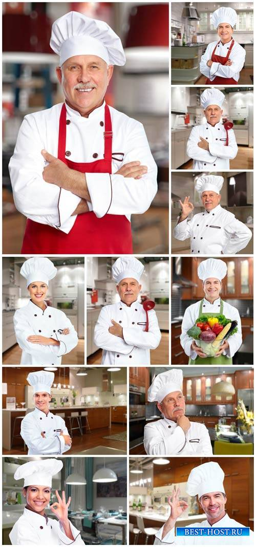 Chef of kitchen - stock photos