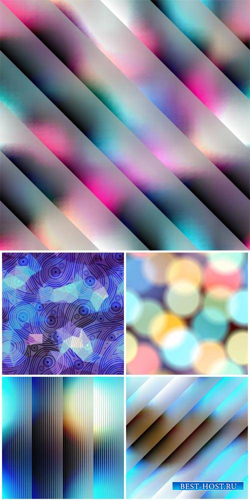 Vector backgrounds, color abstraction, glare